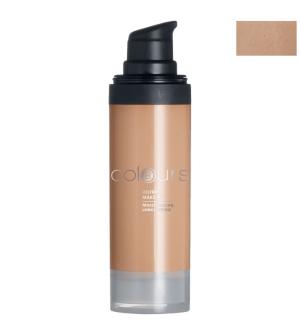 LR Colours bezolejový make-up odtieň Light Caramel - 30 ml