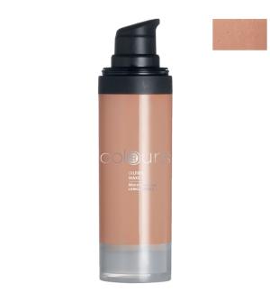 LR Colours bezolejový make-up odtieň Medium Caramel - 30 ml