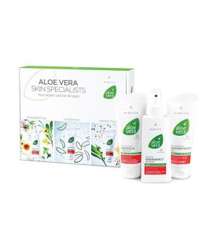 LR Aloe Vera Box První Pomoci pro Péči o Pokožku