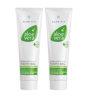 LR Aloe Via - Aloe Vera zubní pasta Sensitive série - 2x 100 ml