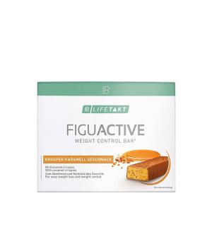 LR Lifetakt Figu Active Křupavá Tyčinka s Karamelem 6 x 60 g