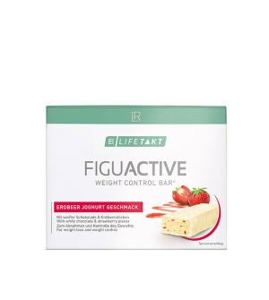 LR LIFETAKT Figu Active Tyčinka s jahodami a jogurtom 6x 60 g